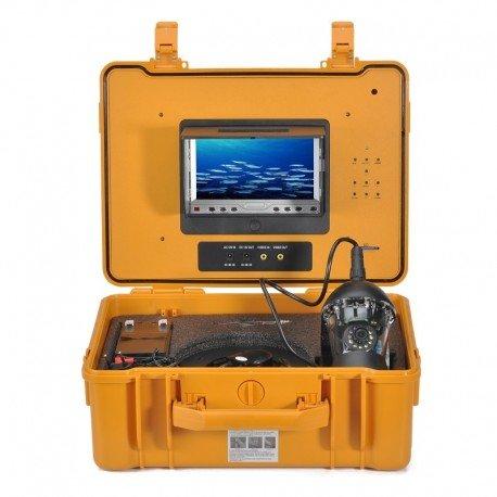 Cámara de la pesca submarina - 360 grados, 1/3 pulgadas Sony CCD, 600