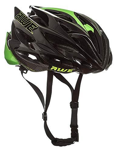 AWE® AWESpeed™ In-Mould Helm Erwachsene Männer Straßen-Radsport 56-58cm Schwarz-Grün