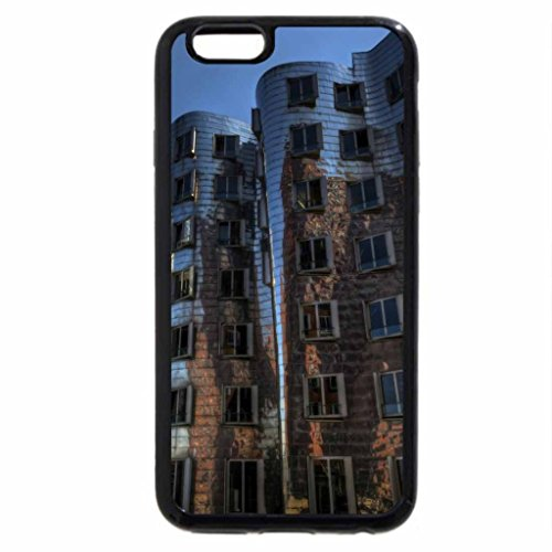 iPhone 6S / iPhone 6 Case (Black) the frank gehry dancing house in dusseldorf