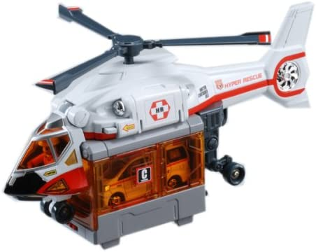 Tomica Hyper Rescue - Doctor COntainer COntainer COntainer Heli 2456a8