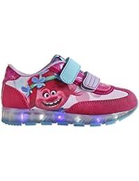 Zapatillas deportivas con luz Trolls Poppy- Talla 27