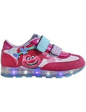 Zapatillas deportivas con luz Trolls Poppy- Talla 32