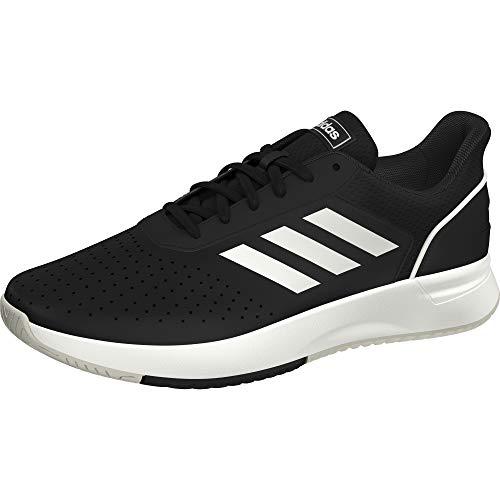 adidas Courtsmash, Scarpe da Tennis Uomo, Multicolore (Negbás/Ftwbla/Gridos 000), 42 EU