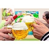 Oberglas Football Mug Beer Mug 400ml Set Of 2pcs