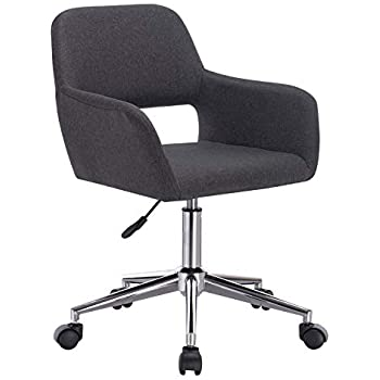 Woltu bs29dgr 1x chaise de bureau tabouret de bureau - Chaise de bureau avec accoudoir ...