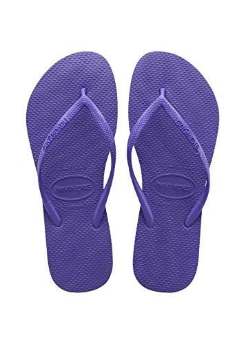 Havaianas Slim, Tongs Femme, Violet (Purple 9461) 41/42 EU (39/40 BR)