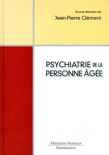 Psychiatrie de la personne âgée