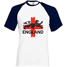 360 Footy - Strong - England Football T-shirt size S to 2XL