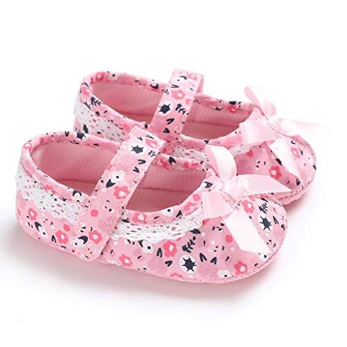 squarex Kleinkind Kleinkind Baby Mädchen Weiche Sohle Bogen Sterne Sandalen Schuhe Einzel Schuhe Zauberstab Prinzessin Schuhe Freizeitschuhe Turnschuhe (Prinzessin Zauberstab Leuchten)
