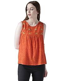 fa05581385796 THE VANCA Women s Tie-Dye Regular Fit Top