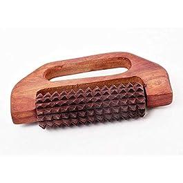 Regali speciali a Venerdì Santo.Massaggiatore di legno digitopressione, Rullo per lo stress sollievo dal dolore D sagomato, migliori massaggiatori piedi,