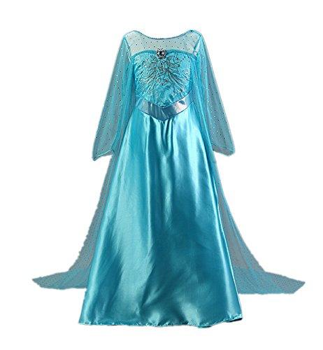 Beunique® Prinzessin Kostüm Kinder Glanz Kleid Mädchen Weihnachten Verkleidung Karneval Party Halloween (Frau Für Erwachsene Tutu Wunder)