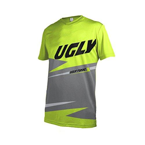 Uglyfrog Element Racewear Motocross Herren Downhill Jersey Trikot MX Enduro Offroad Motorrad Youth/Erwachsener Wear - Gore Fleece Bib