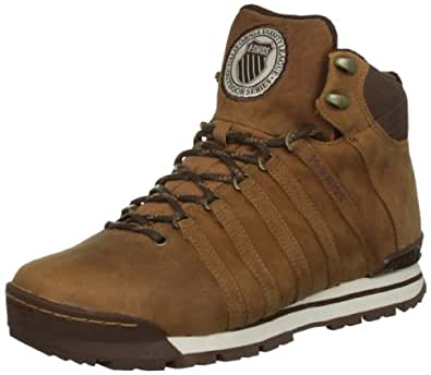 K-Swiss CLASSIC HIKER HIGH 02555-269-M, Herren , Braun (Cognac/Antique White), EU 42 (UK 8)