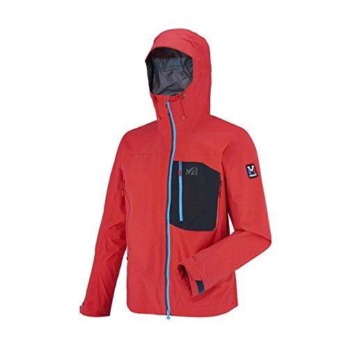 millet-veste-de-ski-snow-3-couches-gore-tex-trilogy-gtx-pro-red-rouge-homme-homme-taille-l-rouge