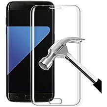 Protector de Pantalla Galaxy S7 Edge, Vegbirt Galaxy S7 Edge Cristal Templado Protector de Pantalla, Vidrio Templado Protector para Samsung Galaxy S7 Edge