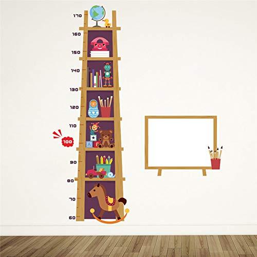 Wandtattoos & Wandbilder Kinder Spielzeug Höhe Maßnahme Wandaufkleber Für Kinderzimmer 3D Effekt Schrank Wachstum Diagramm Whiteboard Wandtattoos Kunst Poster