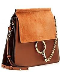 0d7bf1e51017d Actlure Women Genuine Leather Crossbody Shoulder Purse Chain Link FY Bag