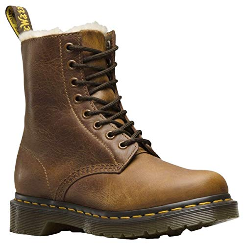 Dr. Martens 1460 Serena 8 Eye Boot Butterscotch Orleans 41