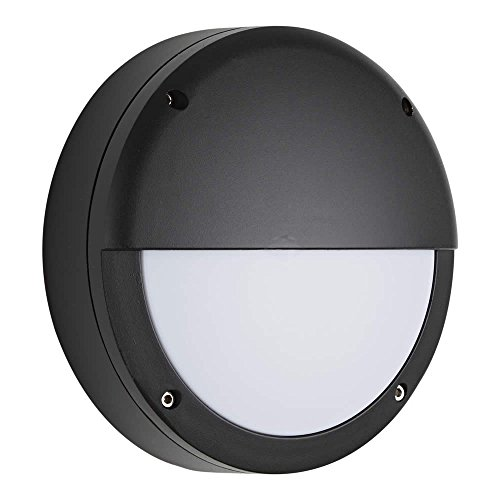 biard-lampada-da-parete-per-esterni-e27-colore-nero-applique-murale-tondo-impermeabile-ip54-plafonie