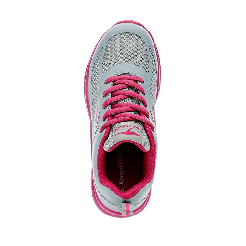 KangaROOS - K-lev Iii, Pantofole Bambina Hellgrau/Pink