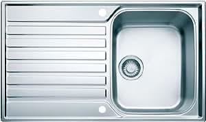 Franke Ascona Reversible Single Bowl Stainless Steel Sink