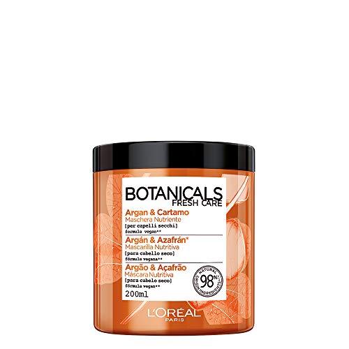 L'Oréal Paris Botanicals Cartamo Infusione di Nutrimento, Maschera per Capelli Secchi, 200 ml