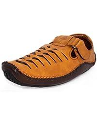 Albertiano Karoo Mony Men Sandal (tan Color)