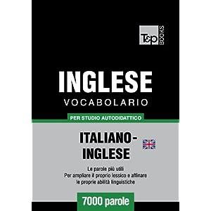 Vocabolario Italiano-Inglese Britannico per studio