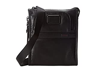 Tumi Alpha 2, Petit Sac Poche en Cuir, Noir - 092110D2 (B00KFRK4A4) | Amazon price tracker / tracking, Amazon price history charts, Amazon price watches, Amazon price drop alerts