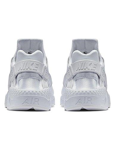 Nike Mens Air Huarache Run Prm Scarpe Da Corsa Bianche