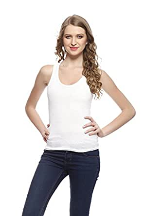 Friskers Women's Tank Top (FY-SPG-02_White_Small)