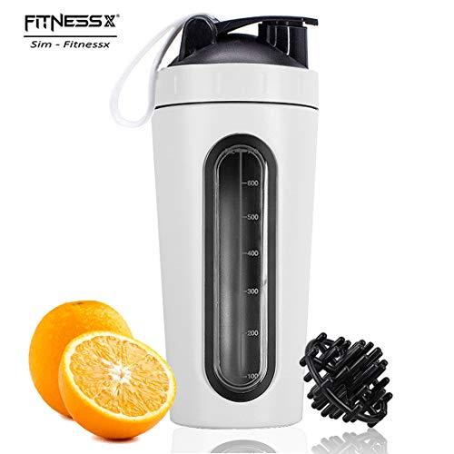 PLC020 Fitness Sport Bottle Shaker Proteine per Sportivi Palestra capacità 700ml