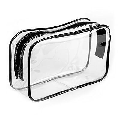 Clear PVC Travel Toiletry Bag Make Up Wash Liquid Organiser