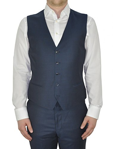 Michaelax-Fashion-Trade -  Abito  - Basic - Maniche lunghe  - Uomo Blau (36)