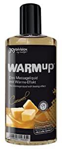 Joy Division WARMup Caramel Huile de Massage 150 ml
