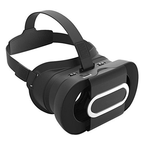 RepubleNegro 96 ° AR Headset Realidad Aumentada Soporte Gafas para Google Cartón 2 Fit 4,5-6,0 pulgadas Teléfonos Móviles