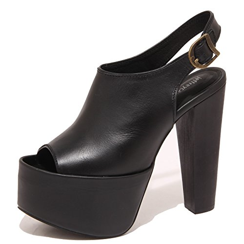 6797P sandalo JEFFREY CAMPBELL nero scarpa donna shoe woman [39]