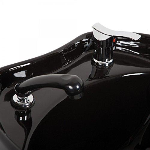 Mischbatterie und Handbrause WHIRL + SHOWER für Friseurwaschsessel -