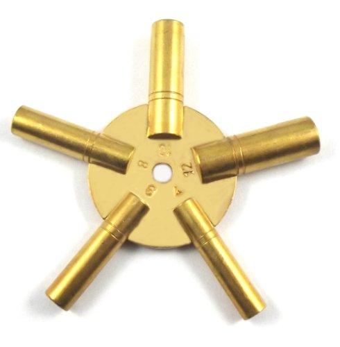 Uhrenschlüssel, Sternschlüssel (4-6-8-10-12 ) 5 in 1