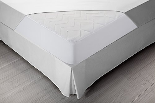 Pikolin Home Padded Lyocell mattress protector, hyper- breathable and extra soft, 120 x 190/200 cm, bed 120