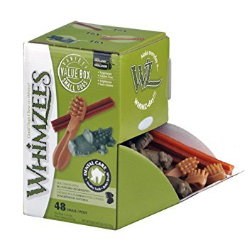 WHIMZEES Dog Treat, Variety Box, Small, 48 per pack 1
