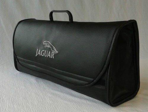 Jaguar auto Organizer bagagliaio borsa degli attrezzi auto in pelle