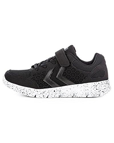 Hummel Unisex-Kinder Crosslite Sneaker Jr Schwarz (Black/Black)