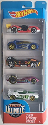 Hot Wheels 2018 Super Ultimate Garage 1:64 Scaled 5-Pack