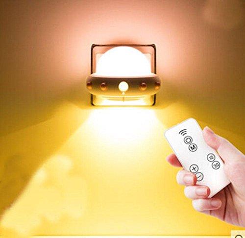 Plug in led Télécommande de lumière de nuit Enfant pour enfants Économise d'énergie bébé Alimentation lumière, 4