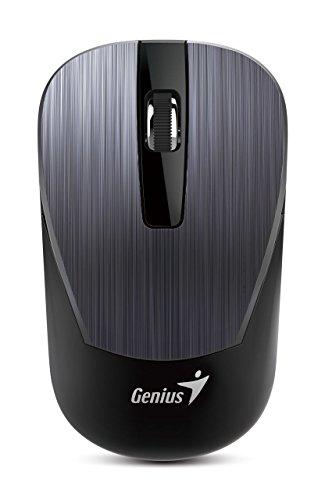 Genius NX-7015 - Ratón (Ambidextro, BlueEye, USB, 1200 dpi, Negro, Verde)