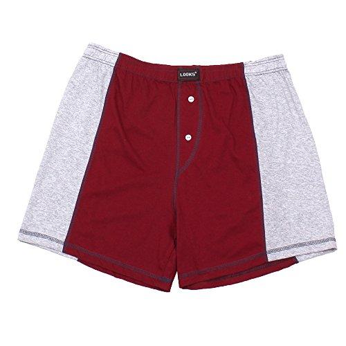 3er Pack Herren Boxershorts in Übergröße Nr. 395 - Farben und Muster können variieren (10, Mehrfarbig) - 3