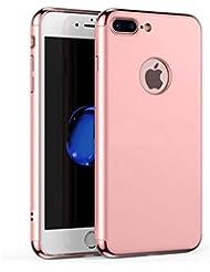 iPhone 6Plus caso, yoowei elegante colores ultrafina 3en 1duro caso antihuellas anti-scratch a prueba de golpes Electroplate marco con superficie revestida con excelente agarre para iphone 7plus