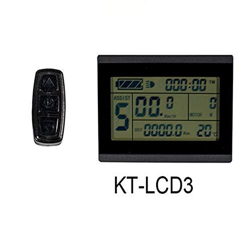 KT ebike LCD display 72 V elektrische fahrradcomputer e bike LCD LED controller Panel -LCD3 72 V SM (1500 watt-3000 watt)
